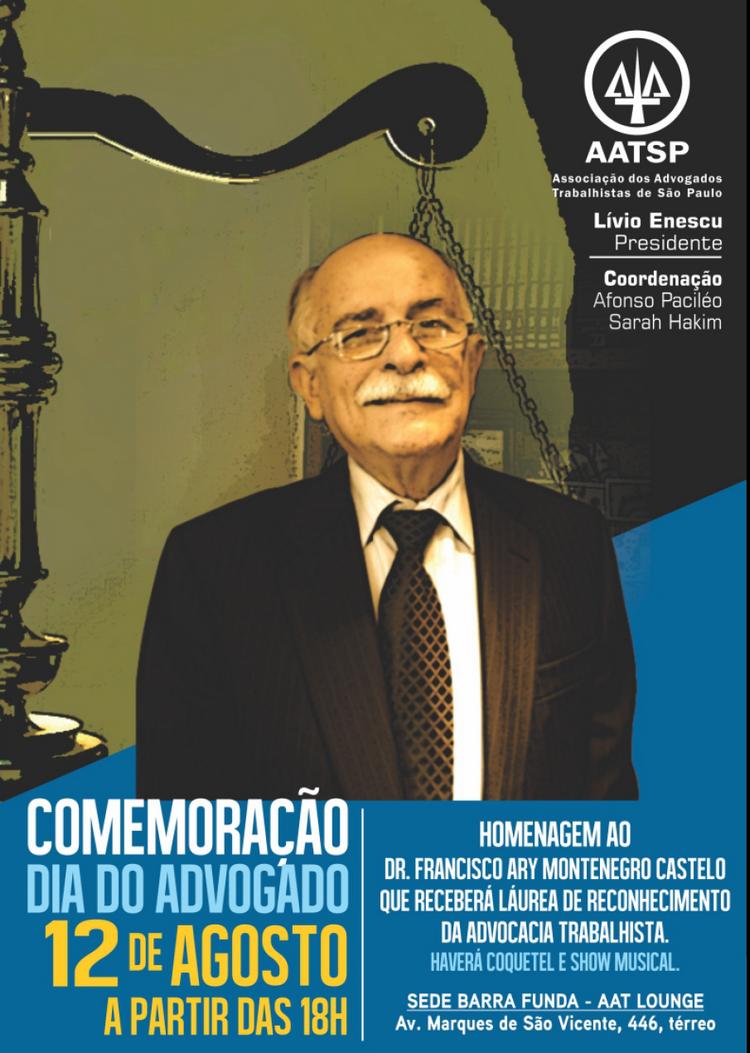 HOMENAGEM DR ARY CASTELO